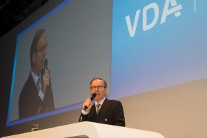 Matthias Wissmann, President of the German Association of the Automotive Industry (VDA)