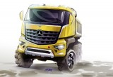 Arocs, το νέο χωματουργικό Mercedes