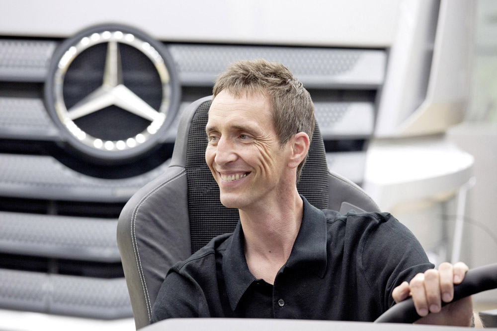 Kai Sieber, Head of Design Mercedes-Benz Vans & Trucks