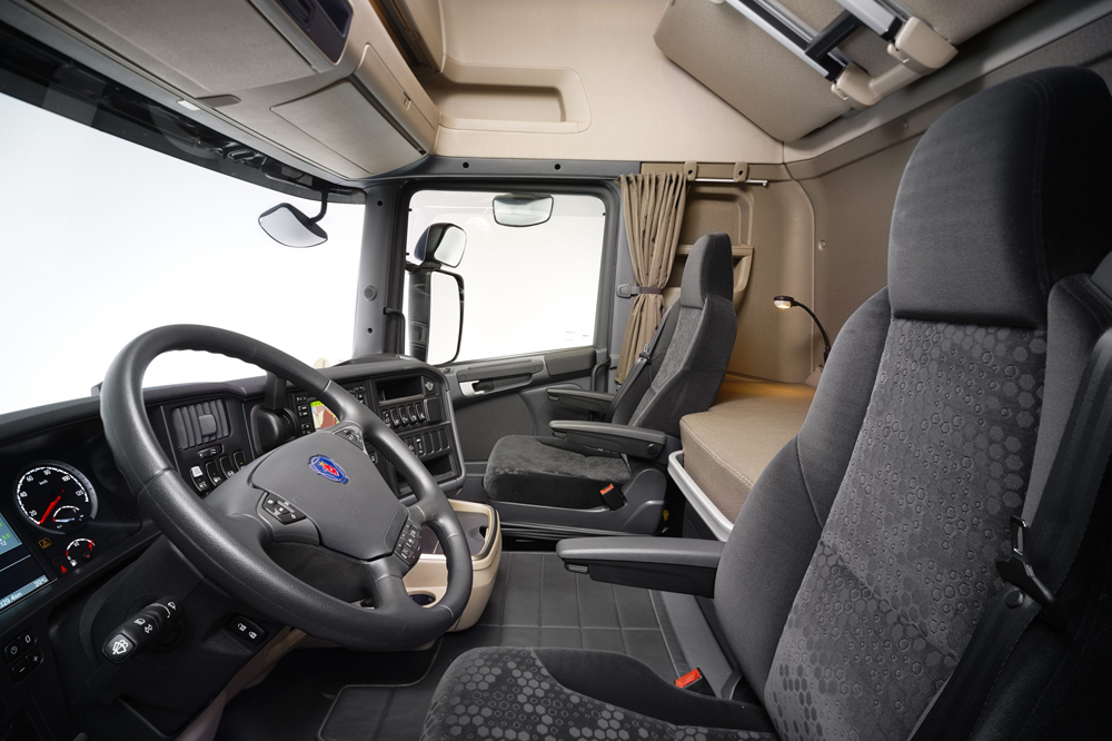 Scania R-series interior