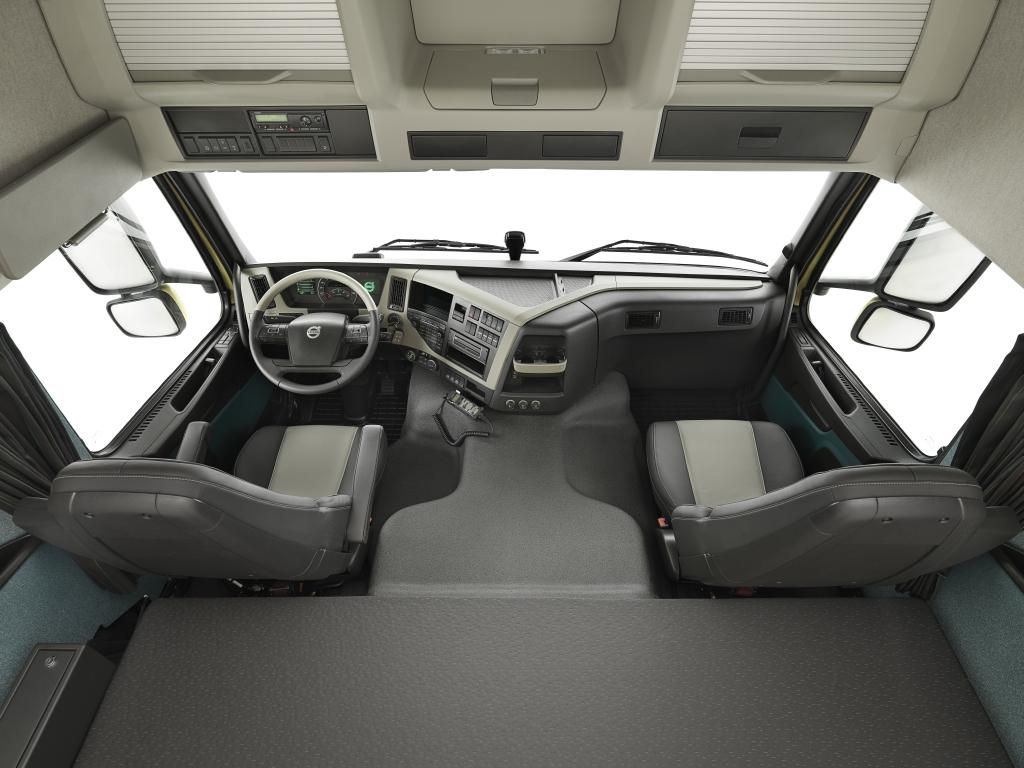 new Volvo FM interior