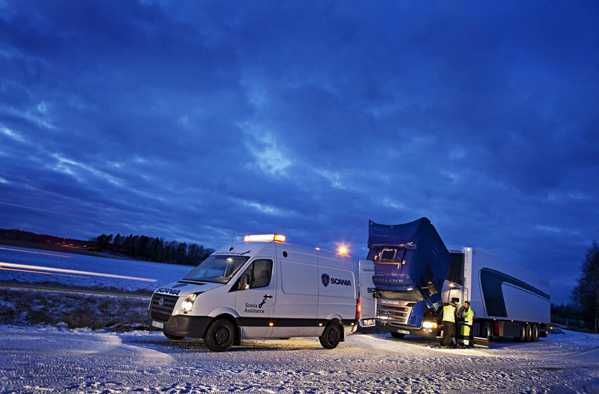 Scania на выставке Bauma 2010 - scania.ru
