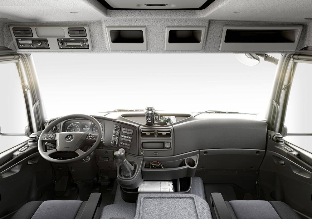 new Atego interior