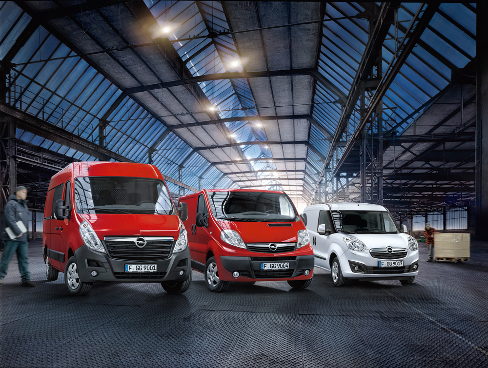 Opel-LCV-Range