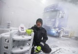 Δοκιμές Scania, βρέξει-χιονίσει!