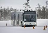 Λεωφορεία «μπαίνουν» στον πάγο!