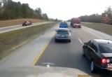 Φορτηγό και IX τρακάρουν στην Εθνική! Ποιος ευθύνεται περισσότερο;